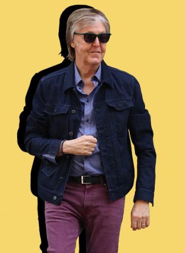 Что носил и носит музыкант Пол Маккартни, чей стиль с годами только лучше