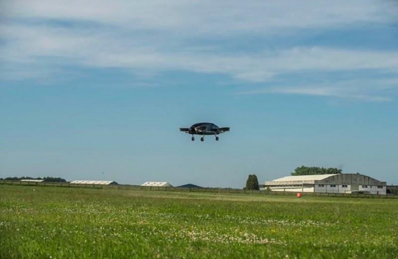 Такси будущего прошло первые лётные испытания