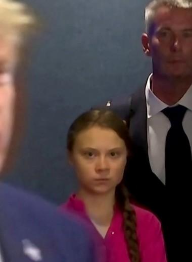 16-летняя Грета Тунберг выступила с эмоциональной речью на саммите ООН