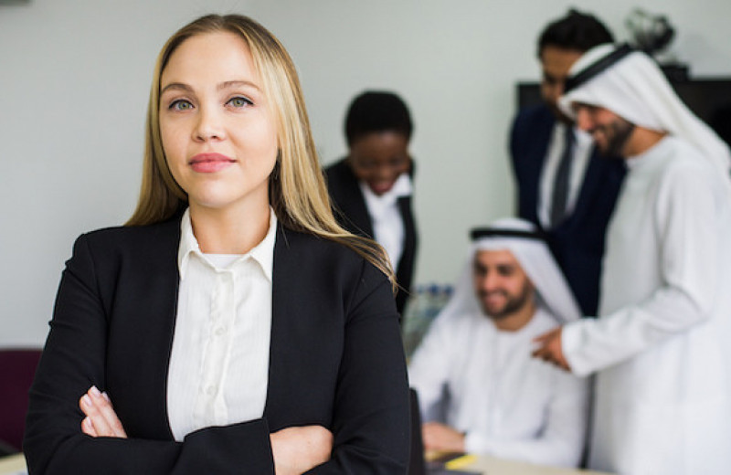 «Я руководила мужским коллективом в Арабских Эмиратах»