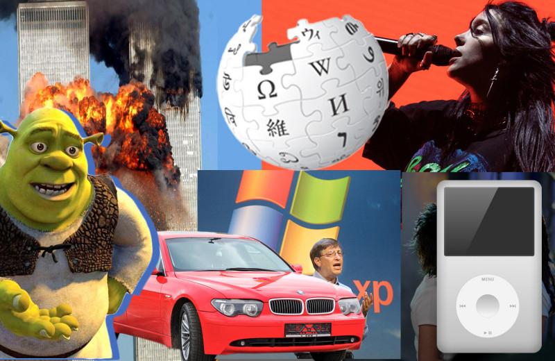20 значимых в нашей жизни вещей, которым в этому году исполняется 20 лет