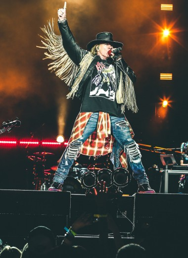 Guns N'Roses: интересные факты и рекорды группы