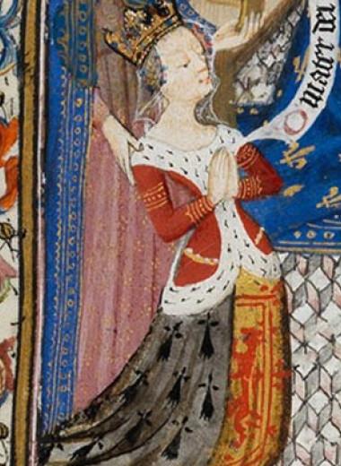 Голову одной жены Франциска I заменили на голову другой в часослове XV века