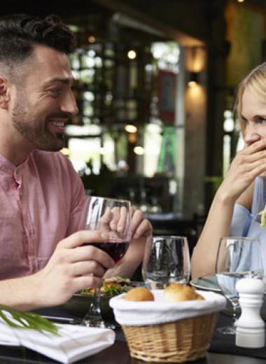 Провал успешного свидания: чем он вызван?