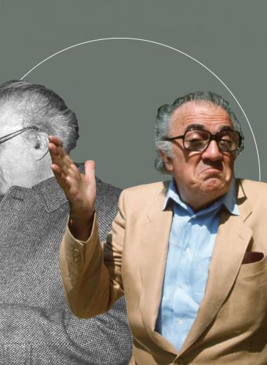 Как Федерико Феллини одевался в восьмидесятых — и почему до сих пор может служить образцом идеального зрелого стиля