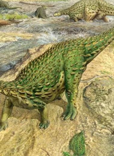 Первый полностью реконструированный скелет динозавра