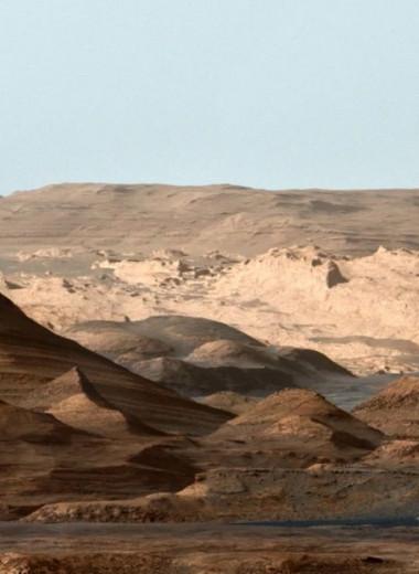 Curiosity нашел на Марсе признаки древнего наводнения