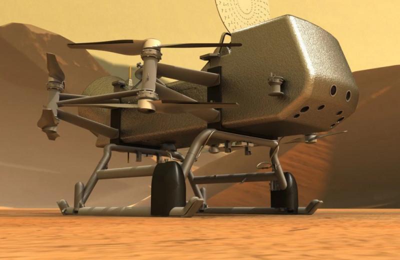 Миссия Dragonfly: NASA рассказало о предстоящем исследовании Титана