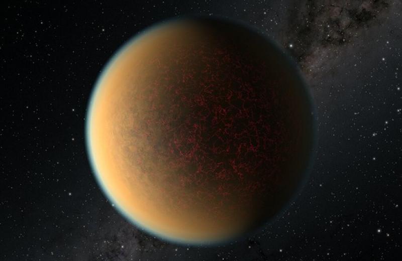 Дегазация магмы позволила суперземле восстановить атмосферу