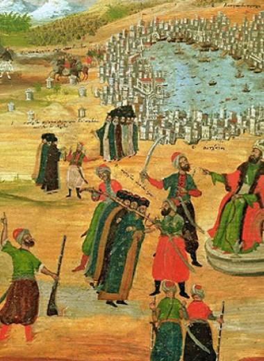 Закат Византийской империи