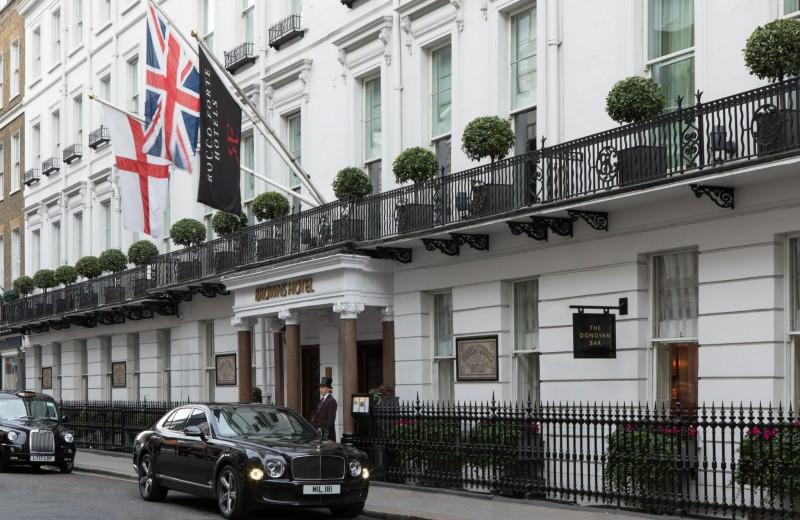 Лондон как искусство: отель Brown's