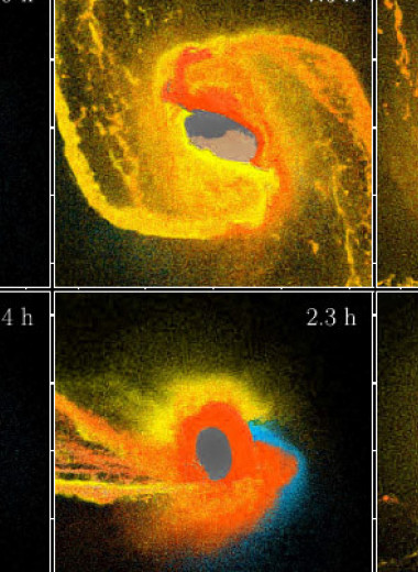 Физики оценили потери атмосферы землеподобных планет в столкновениях с другими телами