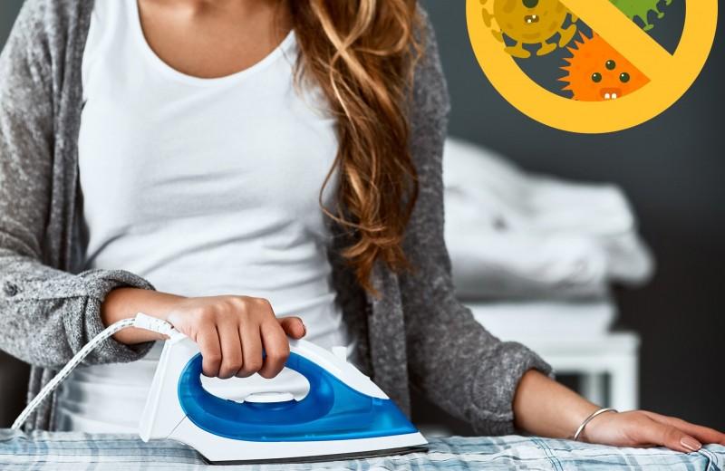 Как правильно гладить вещи, чтобы убить микробы