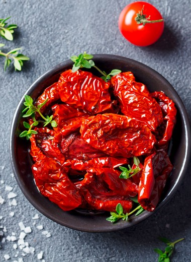 Вяленые помидоры на зиму: как сделать их дома в духовке - пошаговый рецепт