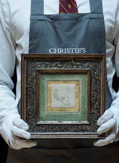С расчетом на российских коллекционеров: в Лондоне продают рисунок Леонардо да Винчи