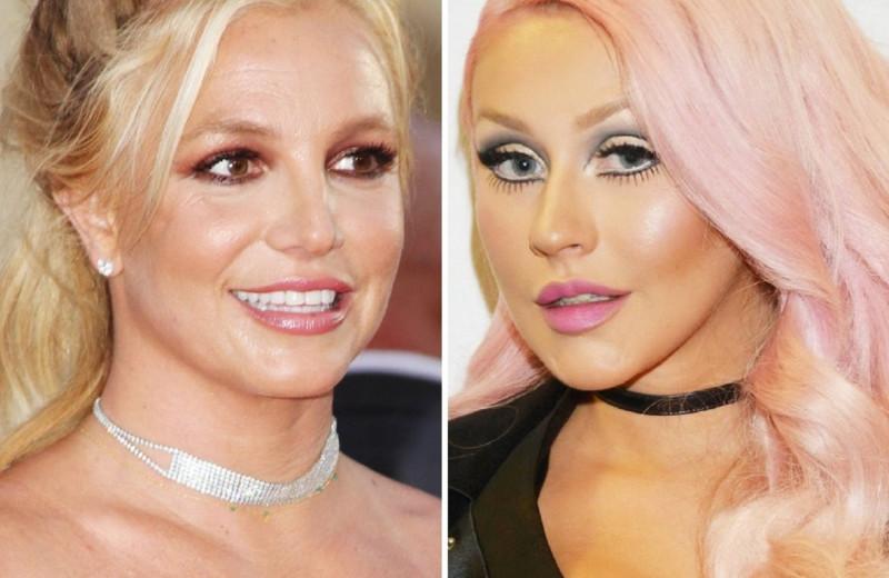 Как выглядели Бритни Спирс, Кристина Агилера и другие поп-звезды в день свадьбы