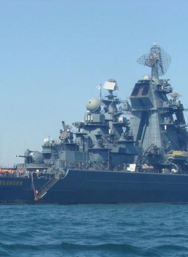 Их осталось только два: тяжелые атомные крейсеры «Орлан»