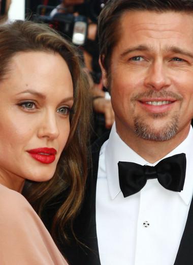 История любви Анджелины Джоли и Брэда Питта: от комедии к судебной драме