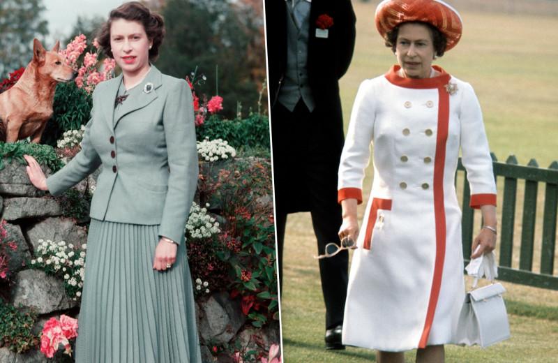 Она была эталоном! Как одевалась Елизавета II в молодости — стиль королевы