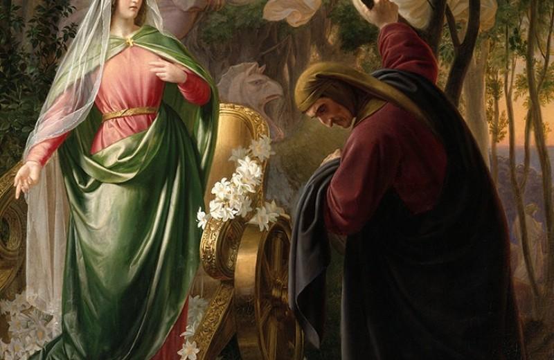 Служение музе: Данте Алигьери и Беатриче Портинари