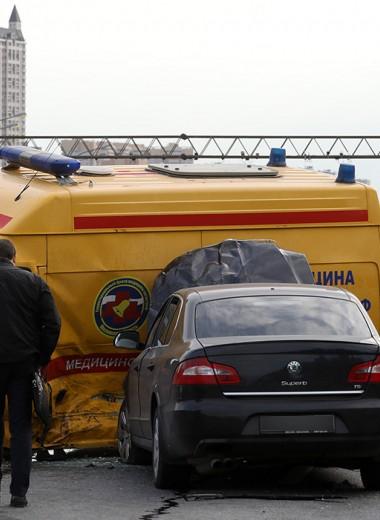 Дорога смерти: почему на Кутузовском не ставят отбойники