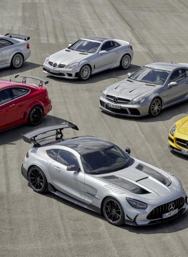 Что такое Black Series у автомобилей Mercedes-Benz