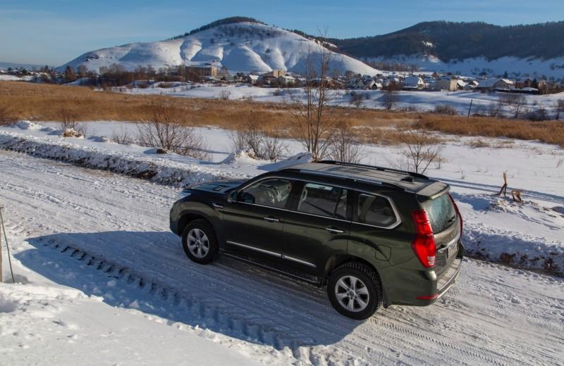 Снежное приключение: тест-драйв Haval H9