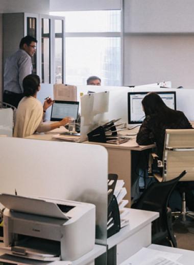 Как работа в опенспейсе меняет чиновников