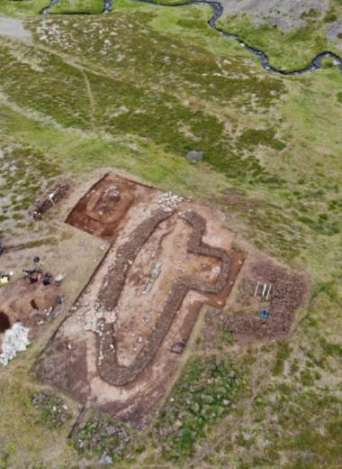 В Исландии нашли поселение из исландской средневековой саги