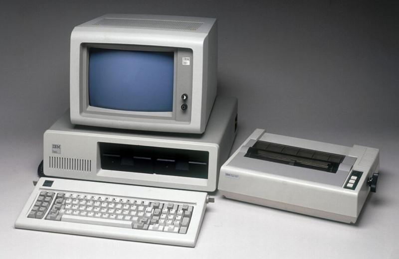 Персональному компьютеру исполнилось 40лет — 12августа 1981года начались продажи IBM PC