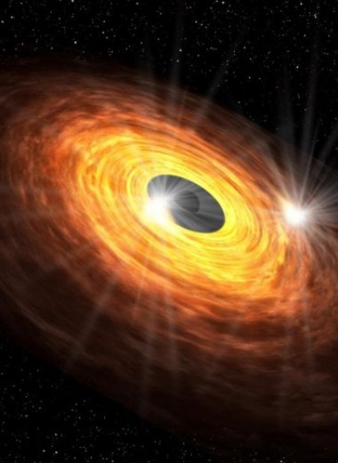 ALMA обнаружил загадочное мерцание вокруг сверхмассивной черной дыры в центре Млечного Пути