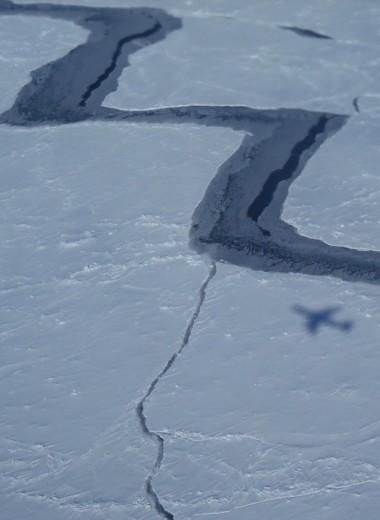 Жуткое пение шельфового ледника
