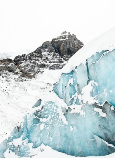 Ледник Вавилова стремительно уходит в море: видео