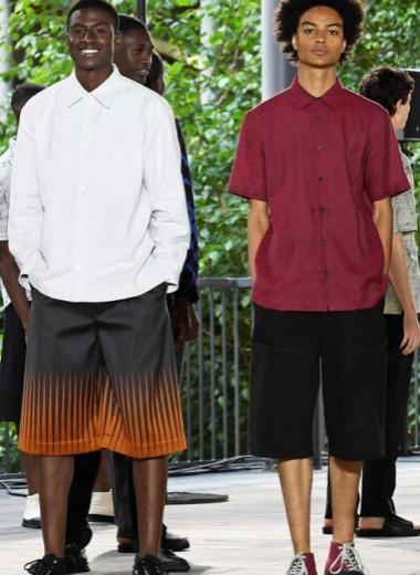 Гигантские шорты наконец-то в моде
