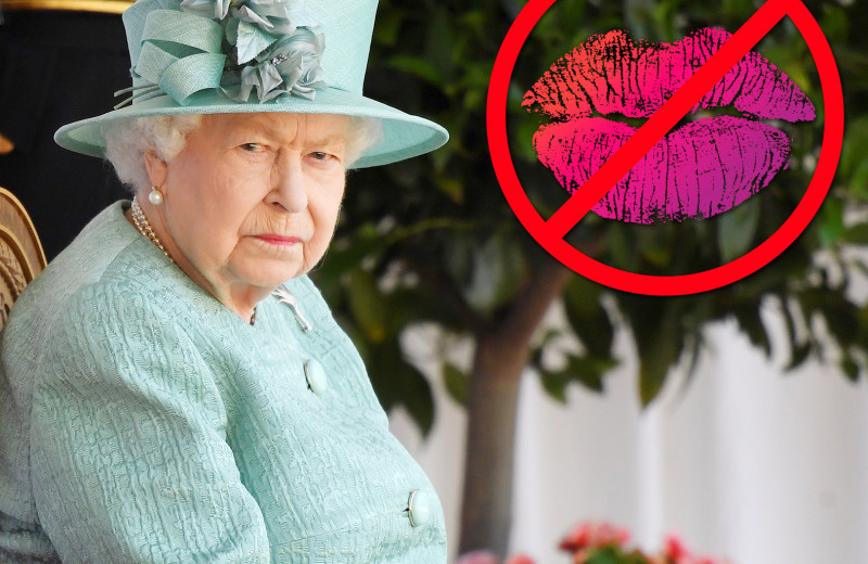 Никаких поцелуев! 9 строгих запретов для королевы Елизаветы II