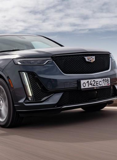 Пример умножения. Тест-драйв Cadillac XT6