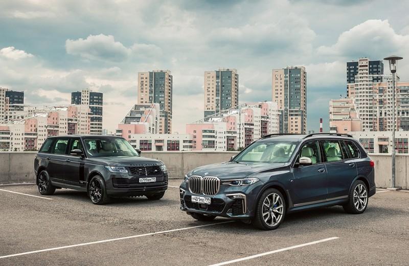 Максималисты. BMW X7 против Range Rover