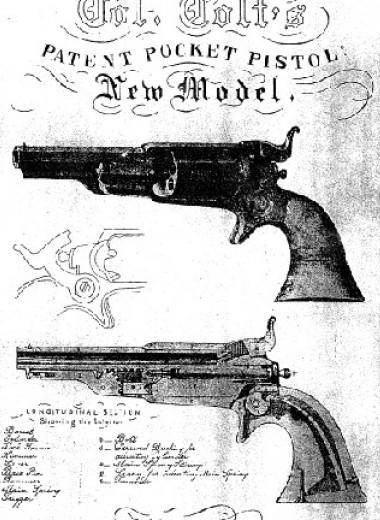 11 фактов об изобретателе револьвера Сэмюэле Кольте