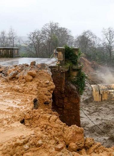 Наводнения на Крите: объявлено чрезвычайное положение