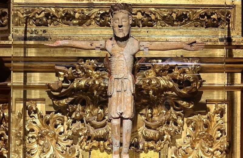 Легендарное испанское распятие принадлежало герою Реконкисты
