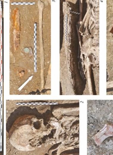 Археологи раскопали на Тамани позднеантичный грунтовый склеп