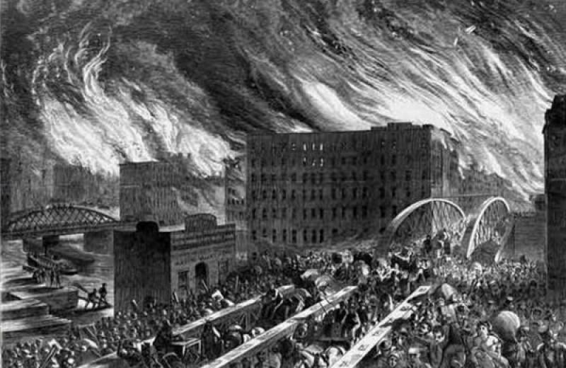 8 великих пожаров и их неожиданные последствия