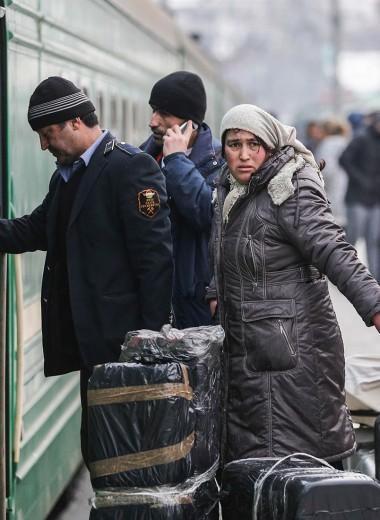 Борьба с мигрантами: как Россия строит свою «мексиканскую стену»