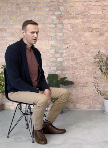 «Я испытал полусмерть, потом кому, но худшее — это адские галлюцинации»: Навальный — о причинах отравления, стоимости лечения и галлюцинациях в интервью Дудю
