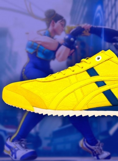 ASICS выпустили кроссовки в коллаборации с игрой Street Fighter