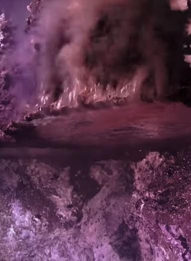 Подводные зеркала: удивительное видео со дна океана