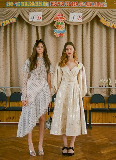 Girls in Vogue: Ира и Катя Петелины