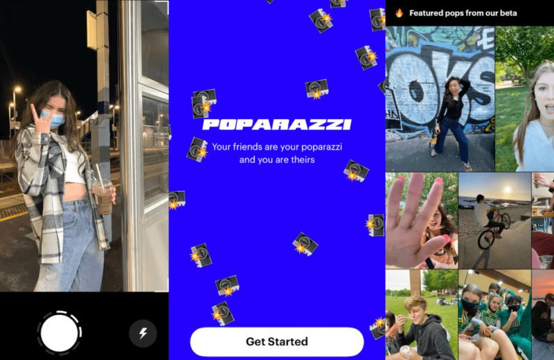 Соцсеть без самолюбования и постановки: в США взлетело приложение Poparazzi для неидеальных фото