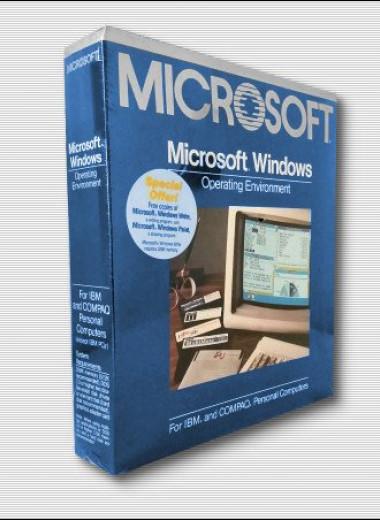 35 лет ОС Windows: как выглядела самая первая версия ОС