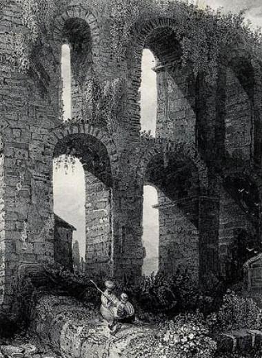Известковые отложения указали на регулярное обслуживание самого большого акведука